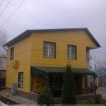 Вентилируемый фасад из композита для частного дома