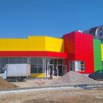 Вентилируемый фасад для коммерческих зданий